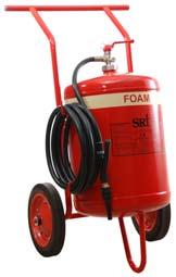 Bình cứu hỏa xe đẩy FOAM